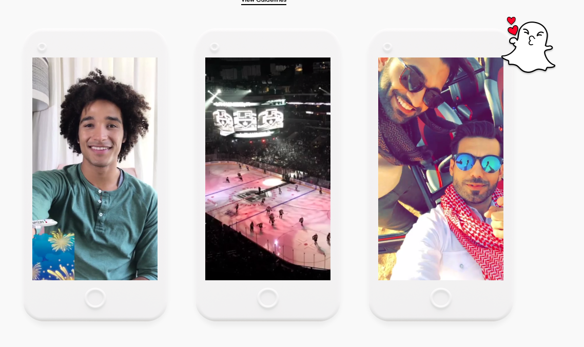 Snapchat On-Demand Geofilters